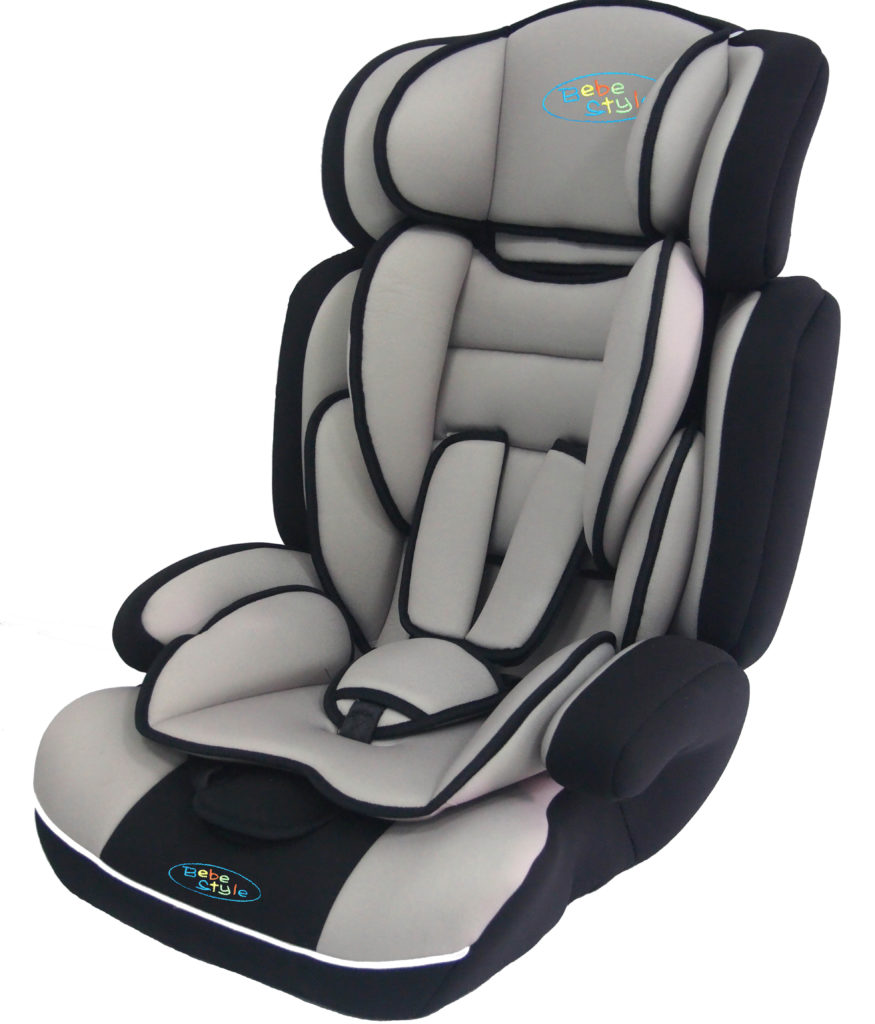 Bebe Style Child Car Seat Grey Kiddy Products