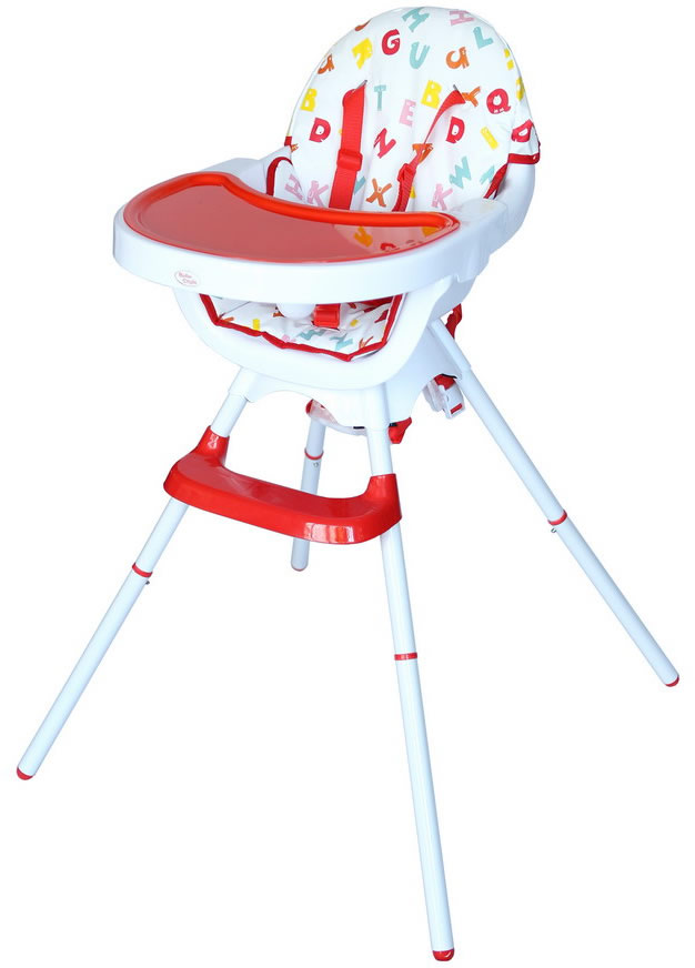 Deluxe 3 In 1 High chair - Red-0