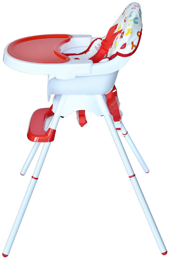 Deluxe 3 In 1 High chair - Red-171