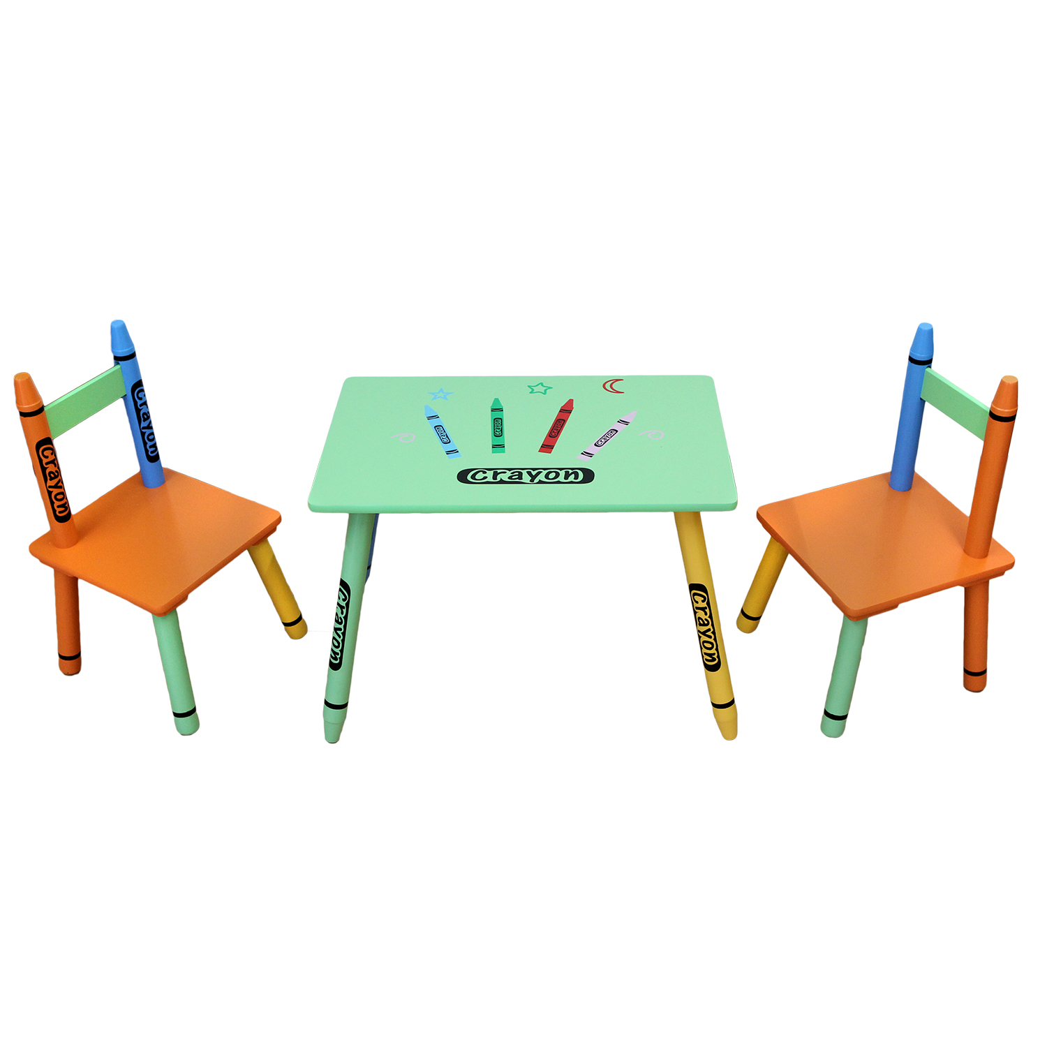 Table & Chairs - Green-123