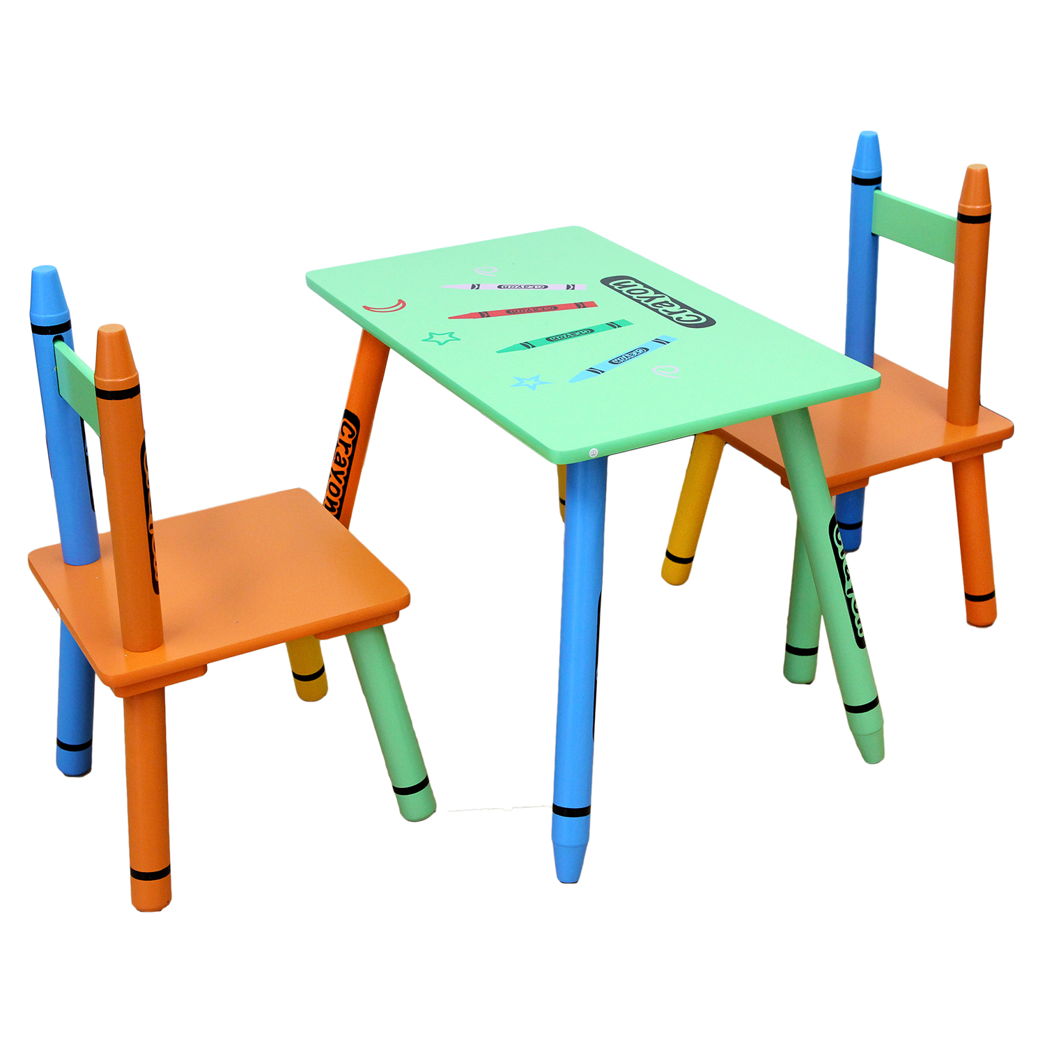 Table & Chairs - Green-120