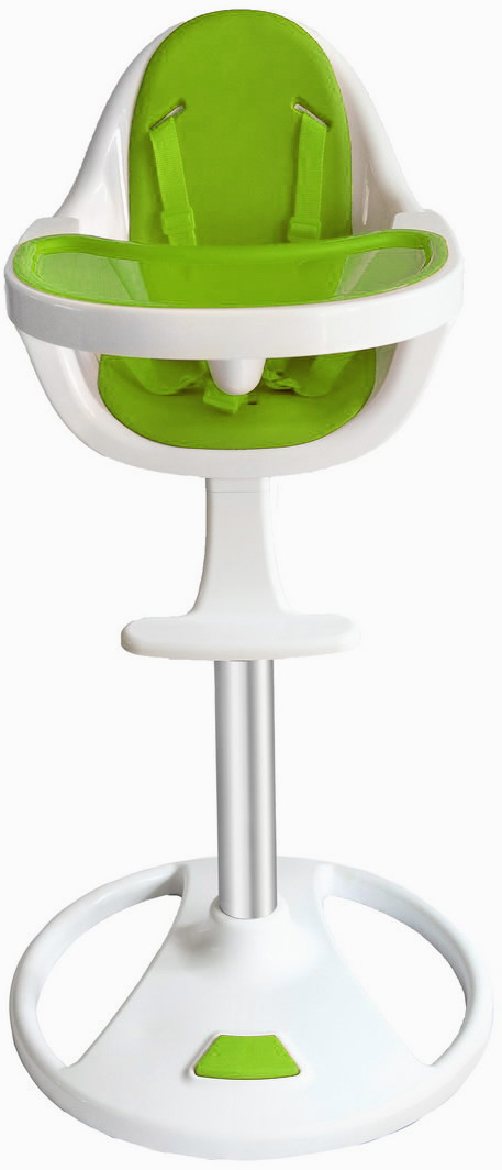 Swivel 360° Highchair - Green-0