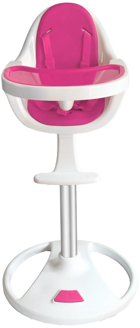 Swivel 360° Highchair - Pink-0