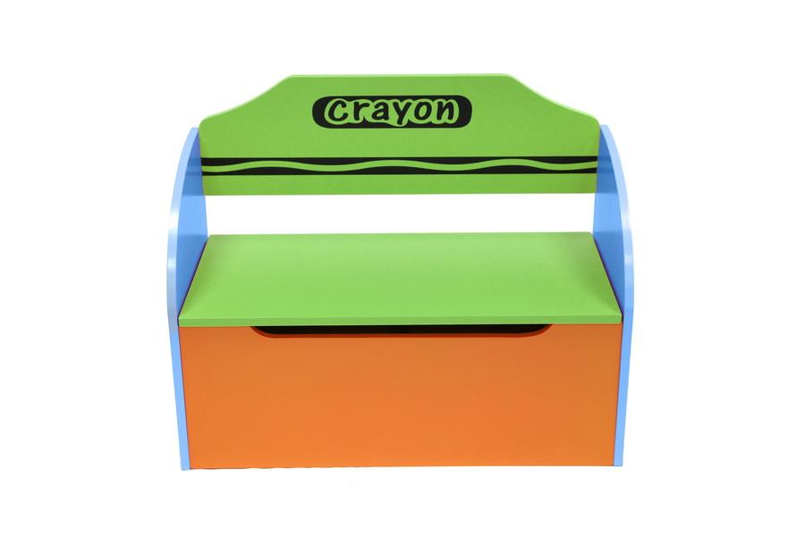 Toy Box + Bench-290
