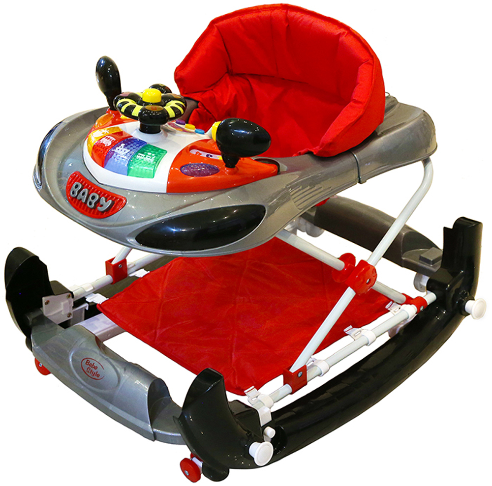 Baby Walker - Racing Car+Rocker-0