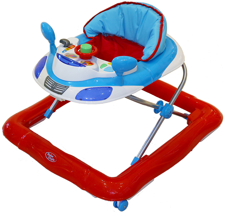 Baby Walker - Car Theme-0