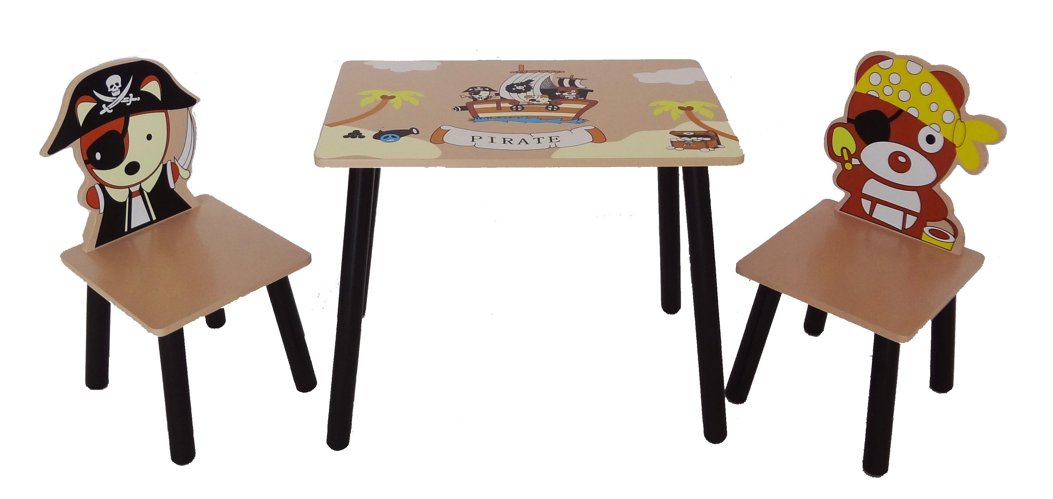 Pirate Table & Chair Set-494