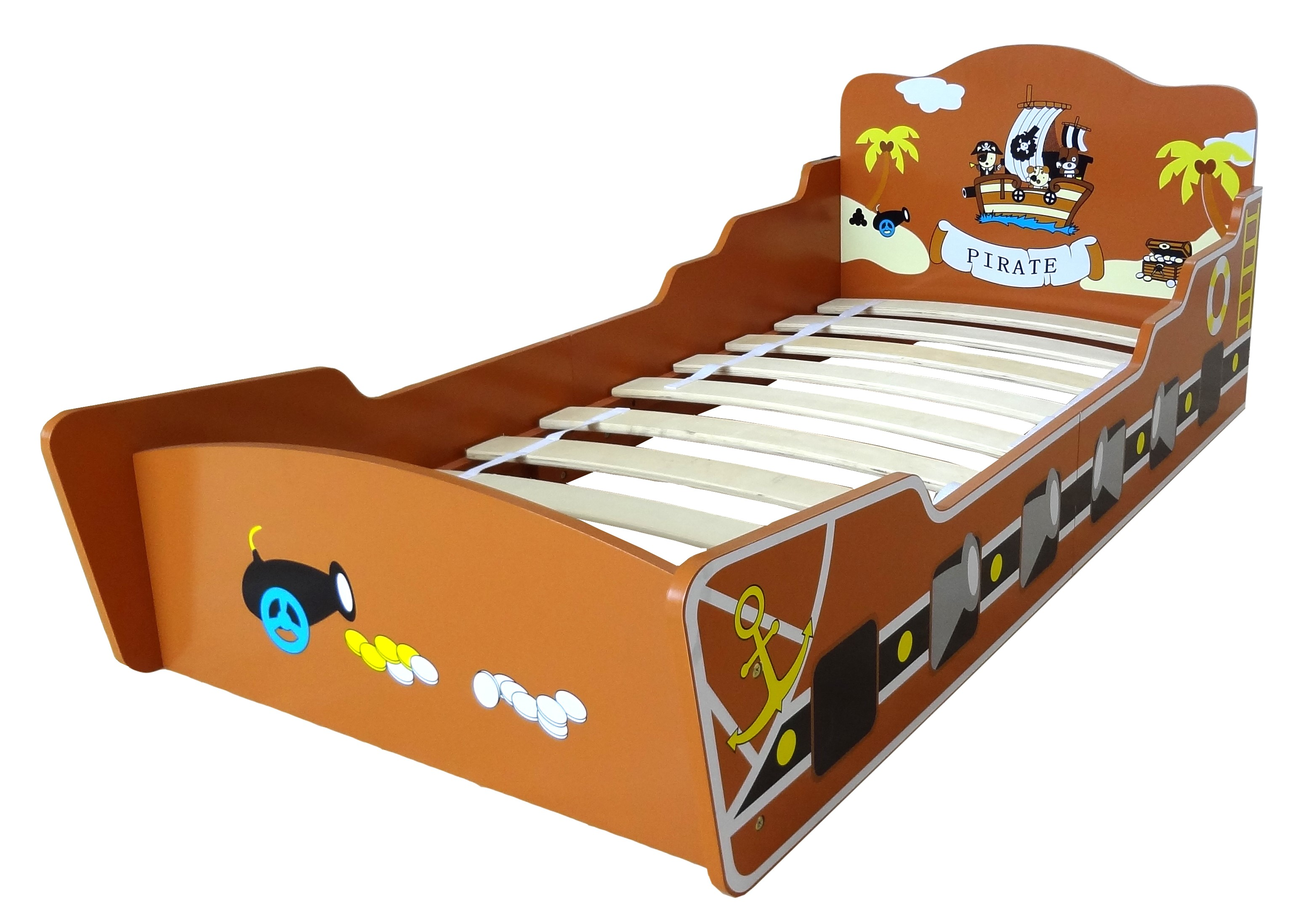 kiddi style pirate boat bed kiddy products. Black Bedroom Furniture Sets. Home Design Ideas