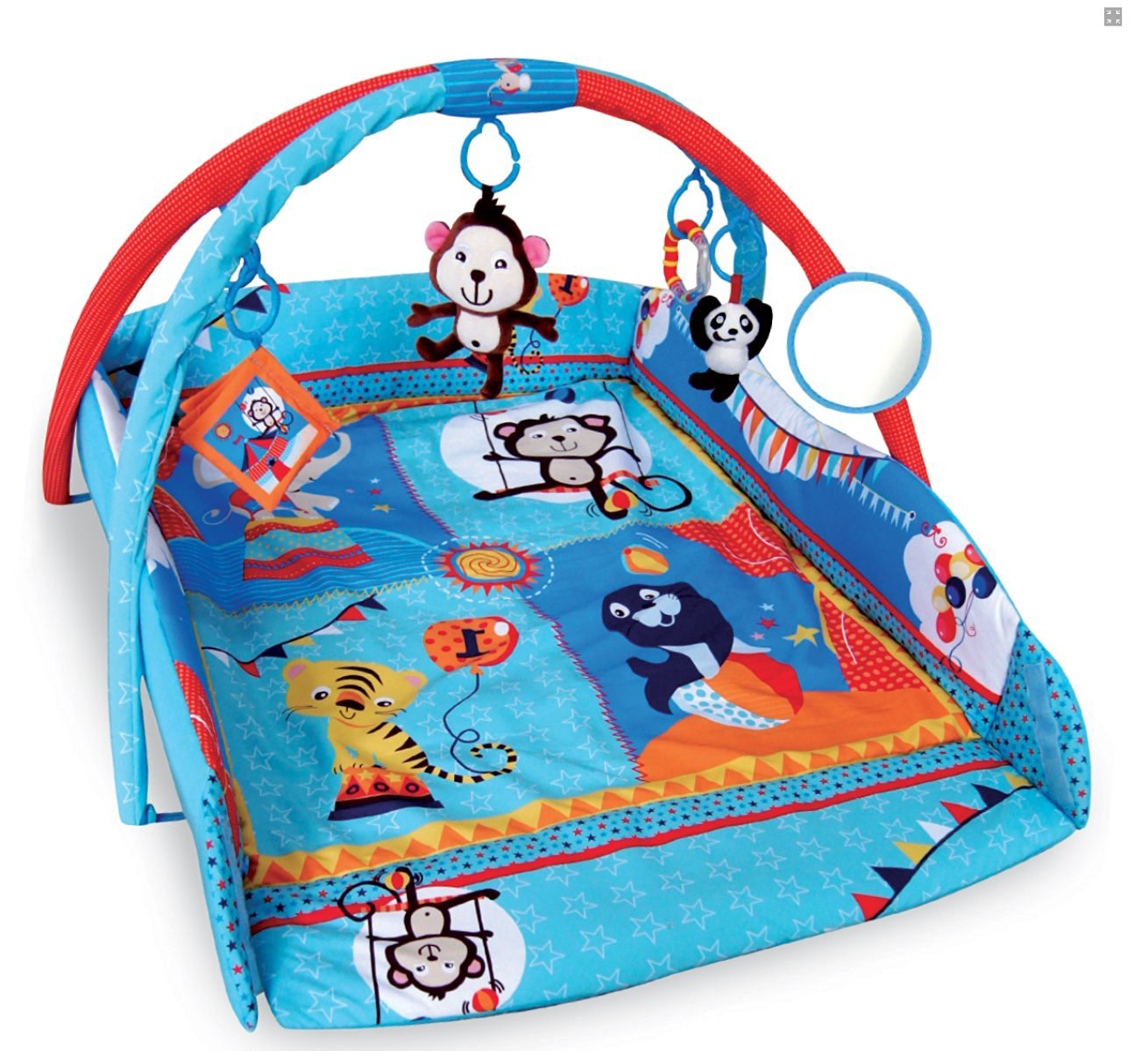 Bebe Style 4 In 1 X Large Musical Animal World Playmat