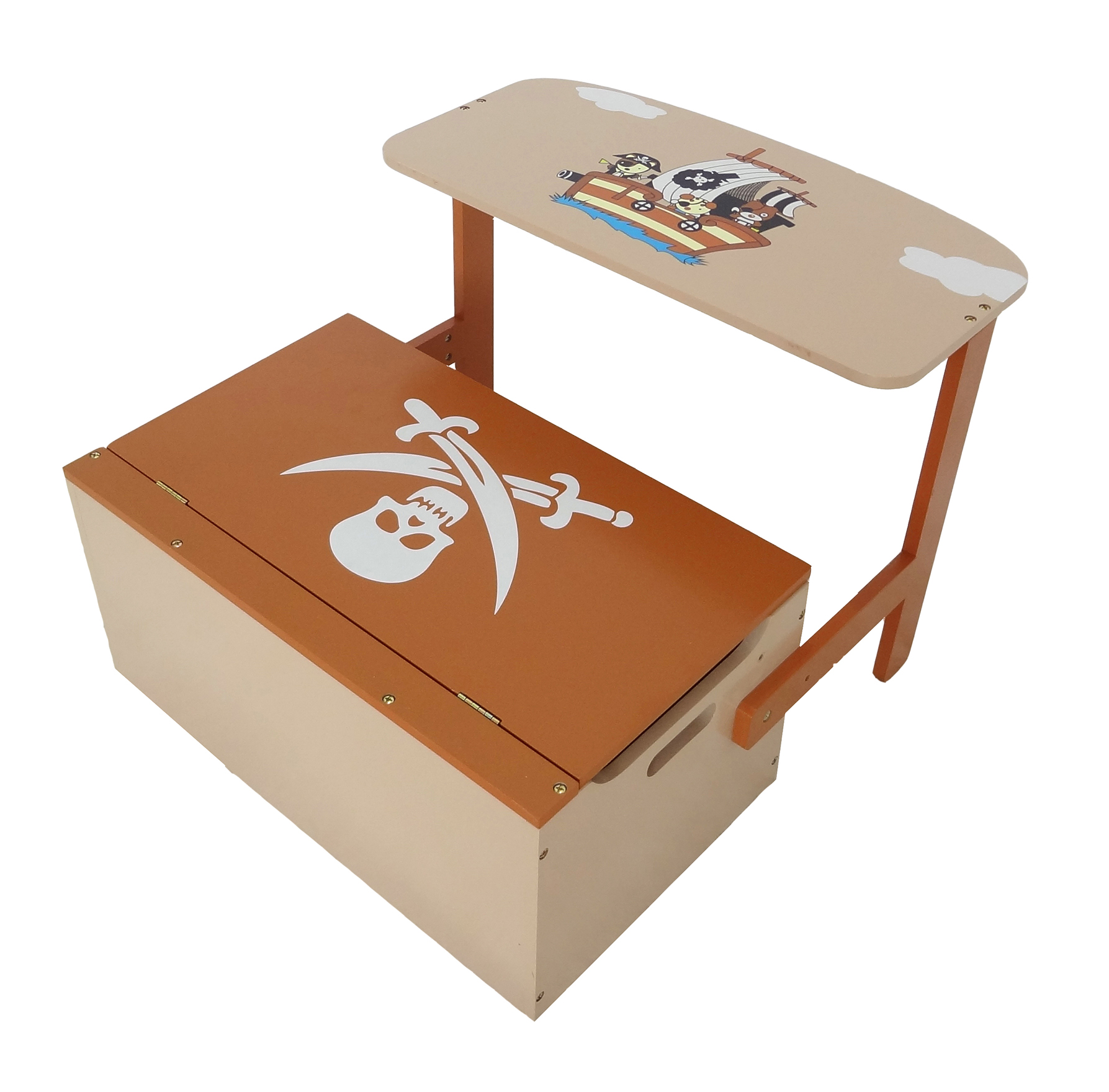 Kiddi Style Convertible Toy Box Bench Amp Table Chair