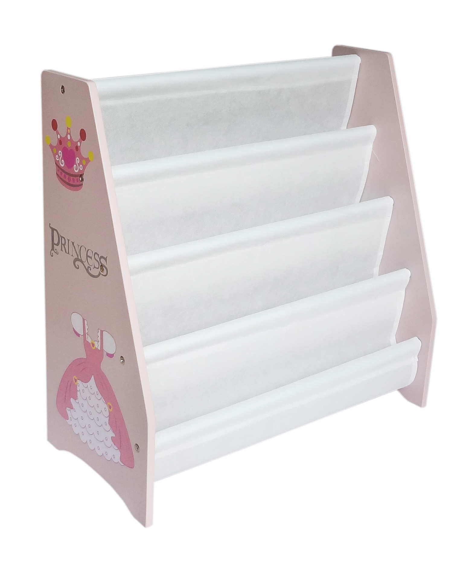 style kiddy bookshelf themed princess sling product products theme kiddi furniture home