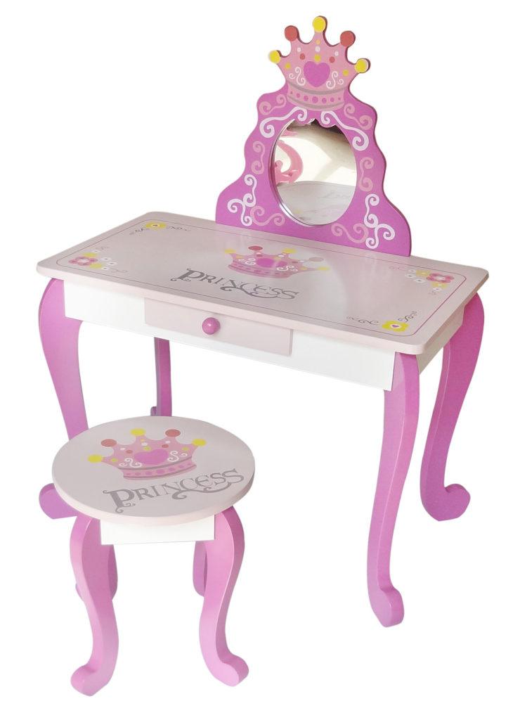 Kiddi Style Princess Dressing Table Amp Stool Kiddy Products